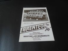 Brentford v Bournemouth, 1988/89 [Fr]